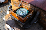 Compass aboard the Exy Johnson