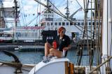 Sailor aboard the Exy Johnson