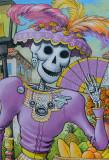 Purple Calavera Lady