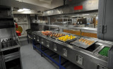 Chow Line Petty Officers Mess - The Cook's View