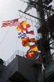Signal Flags on Island