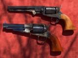 1858 Remington & 1851 Colt