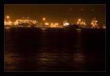 Alameda Harbor by night
