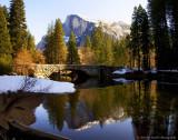 Winter Reflection in Yosemite