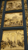 Outside, facing the church, copies of Ghiberti's doors on the baptistery.