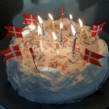 2011-02-05 Olivers birthdays cake
