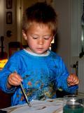 2006-06-23 Oliver paints