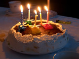 2008-02-03 Olivers birthdays cake