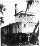Snag Boat No. 1 At Lumber City, Ga.