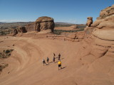 Arches National Park at Delicate Arch