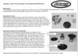 Accelerator Pump Diaphragm Spacer in Jet Kit JDK015, JDK013, and JDK002