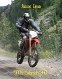 James Dean on CRF450X at Colorado 500