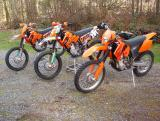 250SXF's and 450XC