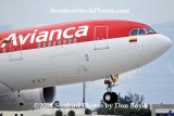 2008 - Avianca's new A330-243 N948AC airline aircraft aviation stock photo #2205