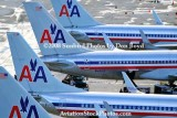 American Airlines B737's and B757's at Miami International Airport aviation airline stock photo #2315