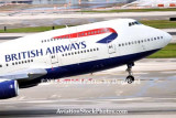 2008 - British Airways B747-436 G-BNLJ departing MIA airline aviation stock photo #2269