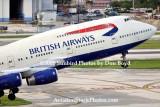 2008 - British Airways B747-436 G-BNLJ departing MIA airline aviation stock photo #2270