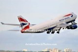 2008 - British Airways B747-436 G-BNLJ departing MIA airline aviation stock photo #2272