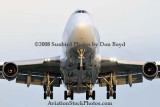 2008 - Atlas Air B747-481BCF N429MC on short final to MIA aviation cargo airline stock photo #2127