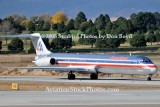 American Airlines MD-82 N7538A at Colorado Springs aviation airline stock photo #2695
