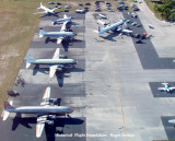 2008 - aerial view of the Historical Flight Foundation's Open House at Opa-locka Executive Airport
