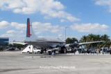 2008 - the left bulkhead on the Historical Flight Foundation's restored DC-7B N836D stock photo #10030
