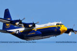 USMC Blue Angels C-130T Fat Albert (New Bert) #164763 military air show aviation stock photo #6220
