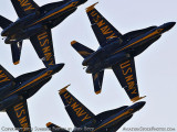 The Blue Angels at Wings Over Homestead practice air show at Homestead Air Reserve Base aviation stock photo #6243
