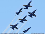 The Blue Angels at Wings Over Homestead practice air show at Homestead Air Reserve Base aviation stock photo #6311