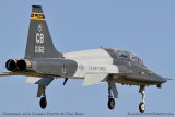 USAF T-38 Talon final approach to OPF military aviation stock photo #6423