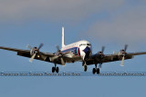 2011 - Historical Flight Foundation's restored Eastern Air Lines DC-7B N836D airliner aviation stock #6757