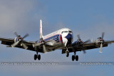2011 - Historical Flight Foundation's restored Eastern Air Lines DC-7B N836D airliner aviation stock #6759