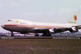 1974 - National Airlines B747-135 N77773 Linda taking off at Miami International Airport