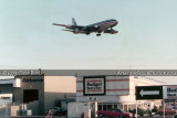 1973 - American Airlines B707 on short final approach over the east side of LAX