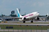 2012 - Caribbean Airlines B737-8Q8 9Y-BGI taking off on runway 13 at FLL aviation stock photo #1727