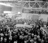 Judo demonstrations inside a hangar at the Homestead AFB Open House in 1962 photo #UM62_7