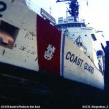 1970 - USCGC MORGENTHAU (WHEC 722) in drydock at the CG Yard photo #CG70 CGC Morgenthau_2