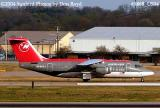 Northwest Airlines Jet Airlink (Mesaba Airlines) AVRO 146-RJ85A N533XJ aviation airline stock photo #9868