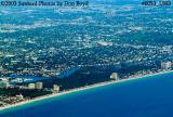 2003 - Ft. Lauderdale Beach landscape aerial stock photo #6053