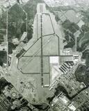 Old aerial view of Smyrna Airport (former Sewart AFB) in Tennessee aviation airport photo #6081