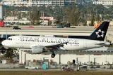 US Airways A319-112 N703UW in Star Alliance scheme aviation airline stock photo #7803