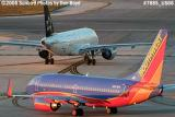 Southwest Airlines B737-7H4 N497WN and US Airways A319 aviation airline stock photo #7885