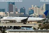 Continental Airlines B757-224 N14106 aviation airline stock photo #7926