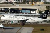 US Airways A319-112 N703UW in Star Alliance paint scheme aviation airline stock photo #7937