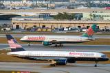 Avianca (North American) B757-28A N752NA and America West B757-2S7 N903AW aviation airline stock photo #7987