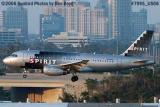 Spirit A319-132 N506NK aviation airline stock photo #7995