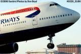British Airways B747-436 G-CIVT airliner aviation stock photo #0320