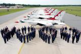 USAF Thunderbirds Stock Photos Gallery