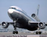 1984 - Pan Am DC10-10 N70NA Clipper Star King airline aviation stock photo #US8425