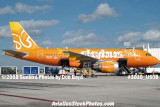 2008 - Skybus A319 N521VA at Ft. Lauderdale aviation stock photo #3010